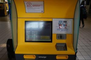 The Billeterie (ticket machine)