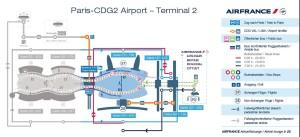 Charles de Gaulle airport Terminal 2