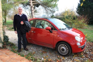 The Fiat 500 was a fun car to drive and would fit into most parking spaces.