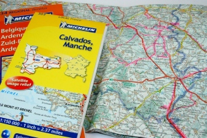 Precious memories: I love tracking my travels on  maps.