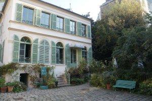 The Musée is a pretty Parisian house.