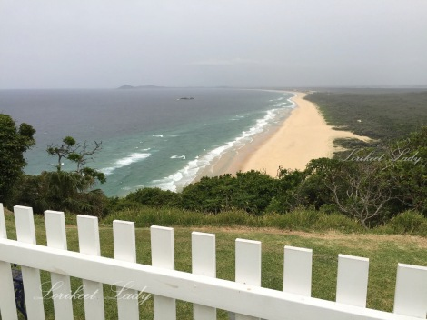 View towards Hat Head from Smoky Cape lighthouse,